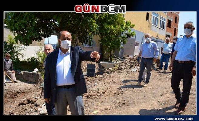 Başkan Demirtaş, çalışmaları yerinde inceledi