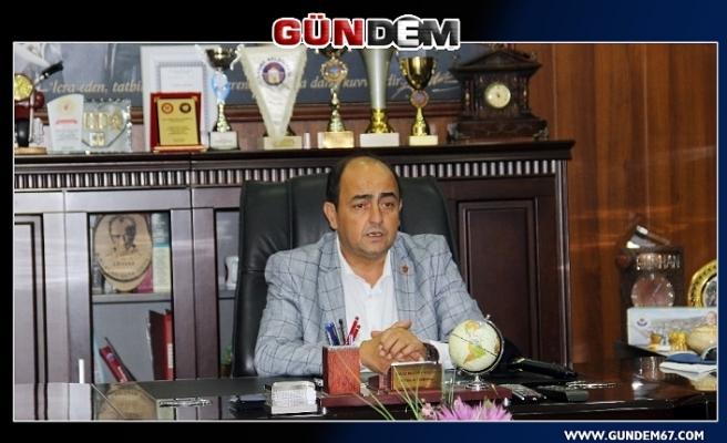 Başkan Demirtaş Erdemir'in 55. Kuruluşunu kutladı