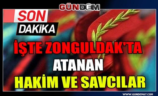 İşte Zonguldak'ta atanan hakim ve savcılar