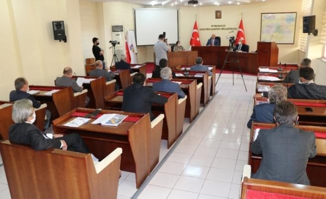 Karabük İl Genel Meclisi olağanüstü toplandı