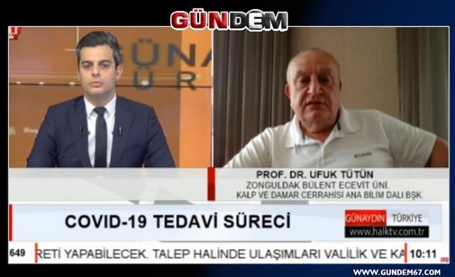 """TÜTÜN, """"BEÜ'DE DURUM İYİYE GİDİYOR!"""""""
