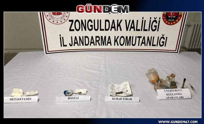 Alaplı'da Zehir Taciri operasyonu; 2 gözaltı