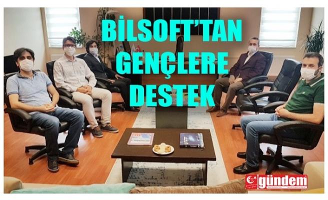 GENÇLERE BİLSOFT'TAN ÖNEMLİ DESTEK