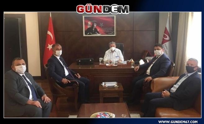 GMİS Yönetim Kurulu, Ankara'da ziyaretlerde bulundu