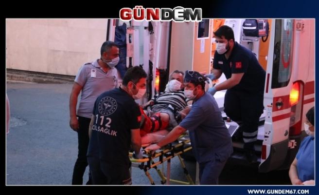 Silahlı kavga: Ayağından vuruldu!