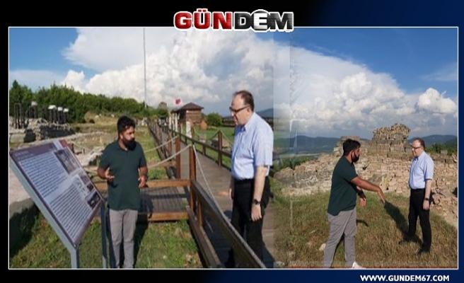 """Vali Tutulmaz: """"Zonguldak seçkin turizm merkezi olacak"""""""