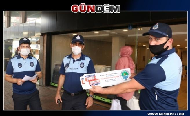 Vatandaşlara maske ve sosyal medya uyarısı