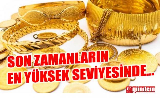 ALTIN FİYATLARI SON ZAMANLARIN EN YÜKSEK SEVİYESİNDE...
