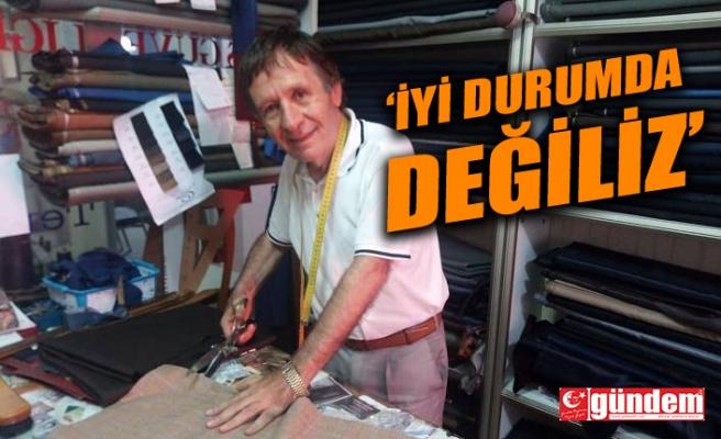 """BAHADIR; """"ESNAF SADAKA VERİLECEK DURUMA GELDİ"""""""