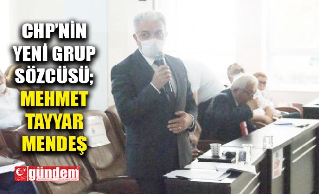 CHP'DE GRUP SÖZCÜSÜ DEĞİŞTİ