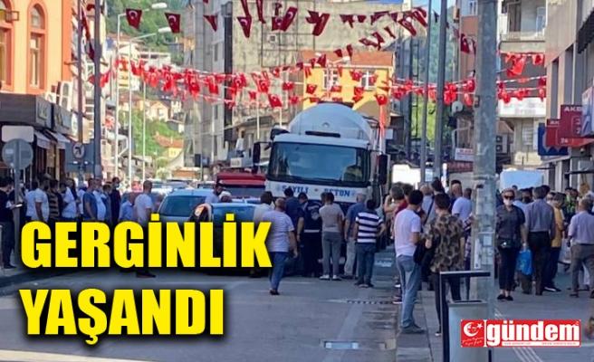 GAZİPAŞA'DA KAZA MEYDANA GELDİ