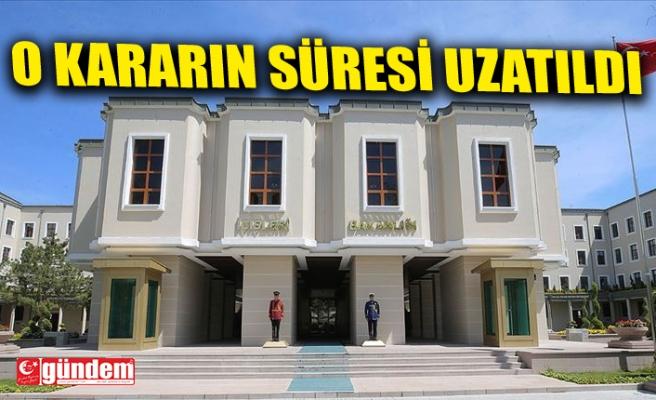 GENEL KURUL TOPLANTILARININ ERTELENME SÜRESİ UZATILDI