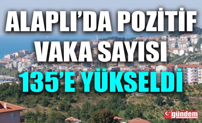 ALAPLI'DA COVİD- 19 VAKALARI 135'E YÜKSELDİ