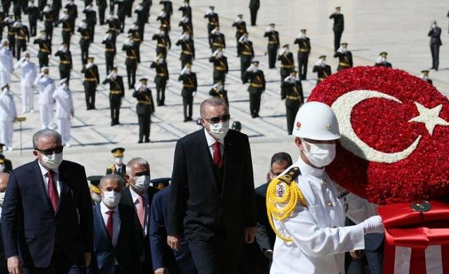 Başkan Erdoğan: Doğu Akdeniz'de şantaj diline boyun eğmeyeceğiz