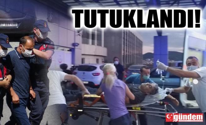 BIÇAKLI YOL VERME KAVGASINDA ZANLI TUTUKLANDI