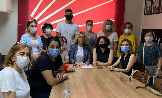 CHP İL KADIN KOLLARI BAŞKANI KIR, 'İSTANBUL SÖZLEŞMESİ KIRMIZI ÇİZGİMİZDİR'