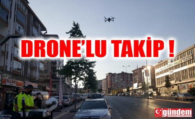 KIRMIZI IŞIK TAKİBİ DRONE İLE YAPILDI