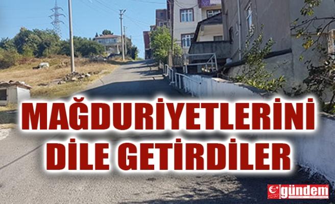 KIŞLA MAHALLESİ OKUL SOKAK SAKİNLERİ OTOBÜS SEFERLERİ NEDENİYLE MAĞDUR!