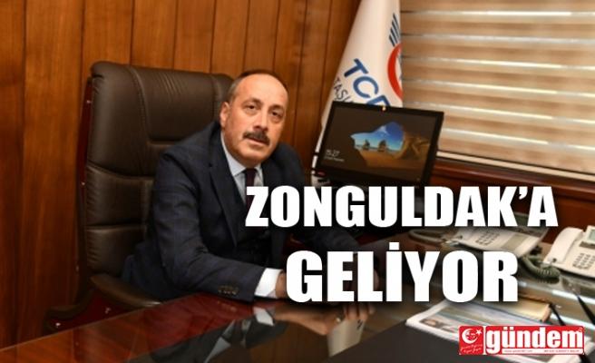 TCDD GENEL MÜDÜRÜ YAZICI, ZONGULDAK'A GELİYOR