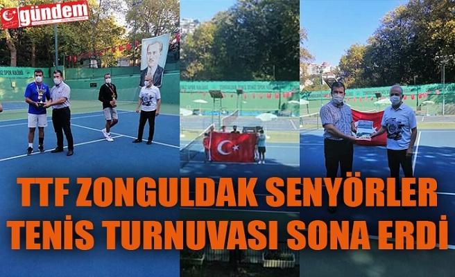 Türkiye Tenis Federasyonu Senyörler Tenis Turnuvası sona erdi.