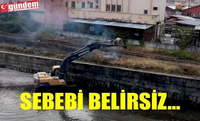 ZONGULDAK'TA BELEDİYE ARKASINDA YANGIN !