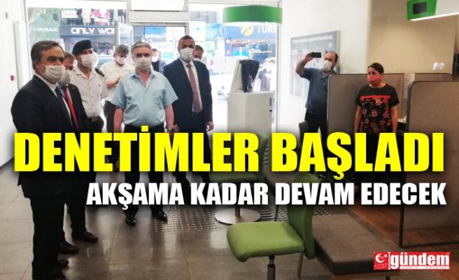 ZONGULDAK'TA COVİD-19 DENETİMLERİ BAŞLADI, AKŞAMA KADAR SÜRECEK