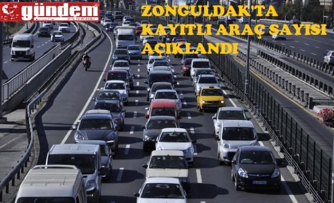 Zonguldak'ta trafiğe kayıtlı araç sayısı açıklandı