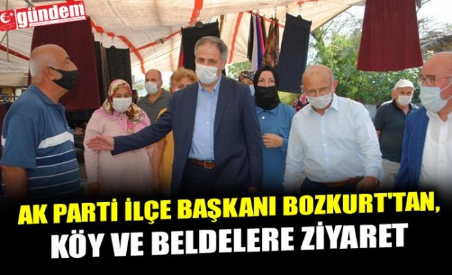 AK PARTİ İLÇE BAŞKANI BOZKURT'TAN, KÖY VE BELDELERE ZİYARET