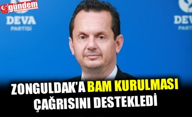 AV. EROĞLU'NUN BAM ÇAĞRISINA, DEVA PARTİ İL BAŞKANI KELEŞ'TEN DESTEK !