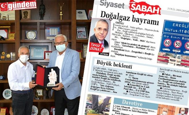 GAZETECİ DONAT, EREĞLİ'Yİ KALEME ALDI...