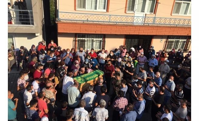 TRAFİK KAZASINDA VEFAT EDEN ODABAŞI, SON YOLCULUĞUNA  UĞURLANDI