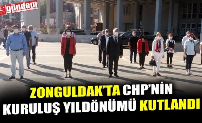 ZONGULDAK'TA CHP'NİN KURULUŞ YIL DÖNÜMÜ KUTLANDI