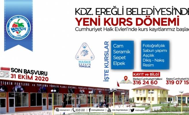 CUMHURİYET HALK EVLERİ'NDE KURSLAR BAŞLIYOR