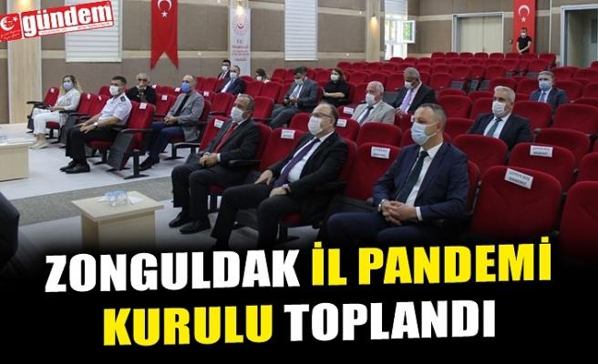 ZONGULDAK İL PANDEMİ KURULU TOPLANDI
