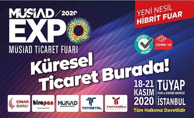 18. MÜSİAD EXPO Ticaret Fuarı, bu yıl ilk kez 'hibrit fuar' deneyimi sunacak