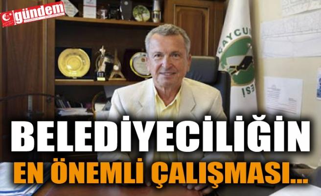 BELEDİYECİLİĞİN EN ÖNEMLİ ÇALIŞMASI...