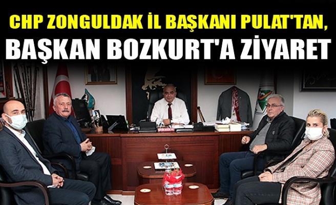 CHP ZONGULDAK İL BAŞKANI PULAT'TAN, BAŞKAN BOZKURT'A ZİYARET