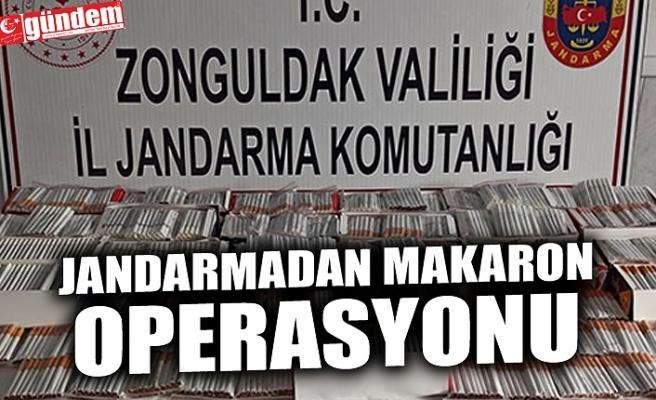 JANDARMADAN MAKARON OPERASYONU