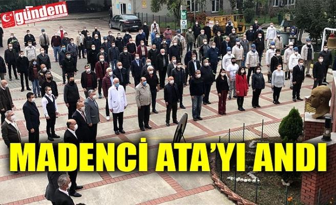 MADENCİ ATA'YI ANDI