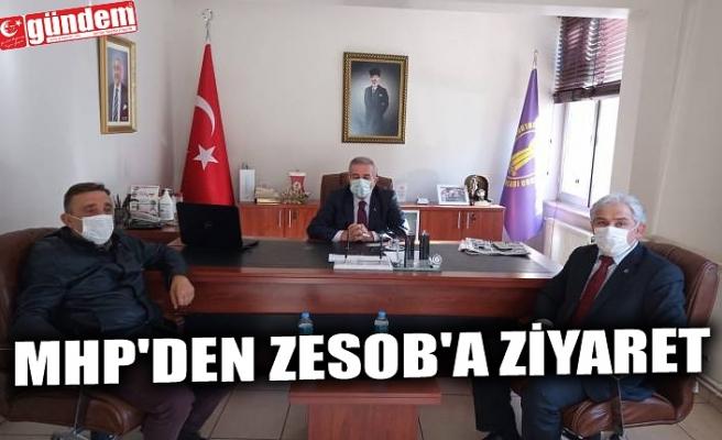MHP'DEN ZESOB'A ZİYARET