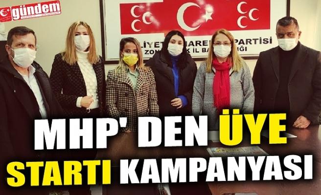 MHP' DEN ÜYE STARTI KAMPANYASI