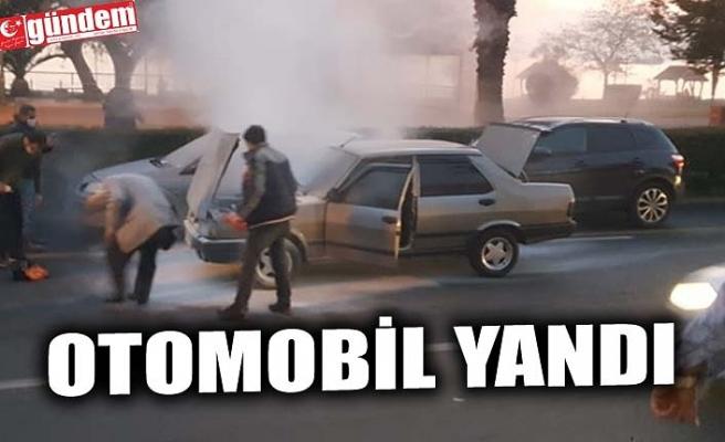 OTOMOBİL YANDI
