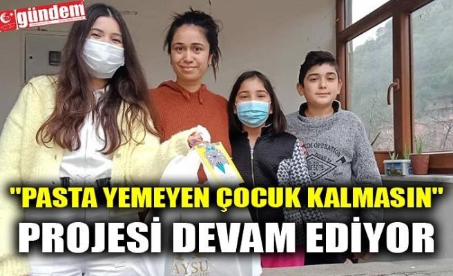 """""""PASTA YEMEYEN ÇOCUK KALMASIN"""" PROJESİ DEVAM EDİYOR"""