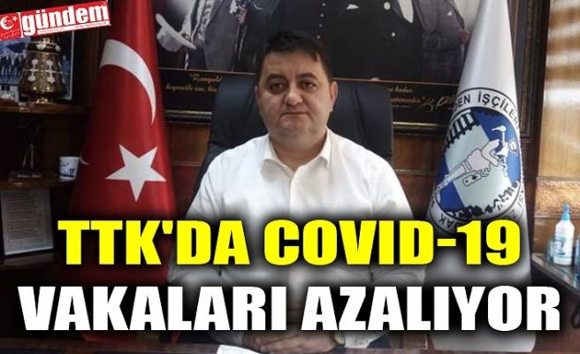 TTK'DA COVID-19 VAKALARI AZALIYOR