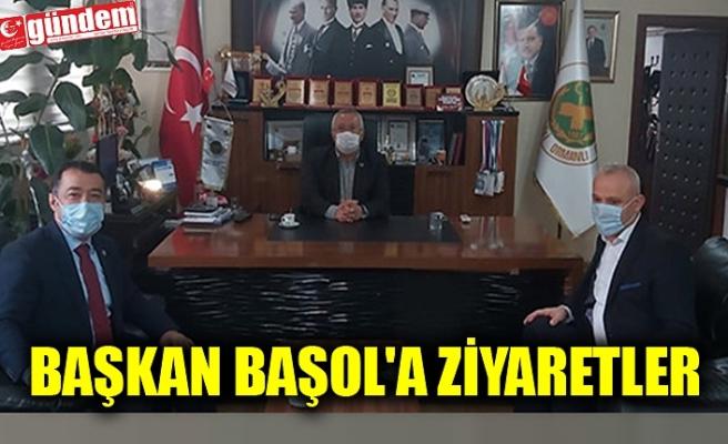 BAŞKAN BAŞOL'A ZİYARETLER