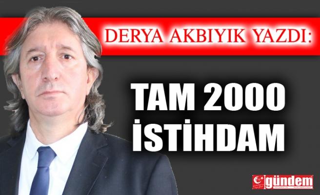 TAM 2000 İSTİHDAM