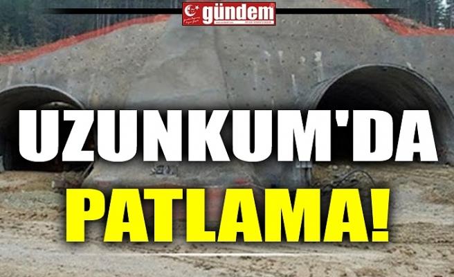 UZUNKUM'DA PATLAMA!