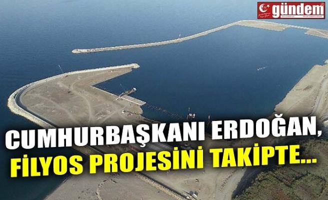 CUMHURBAŞKANI ERDOĞAN, FİLYOS PROJESİNİ TAKİPTE...