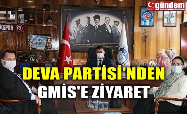DEVA PARTİSİ'NDEN GMİS'E ZİYARET