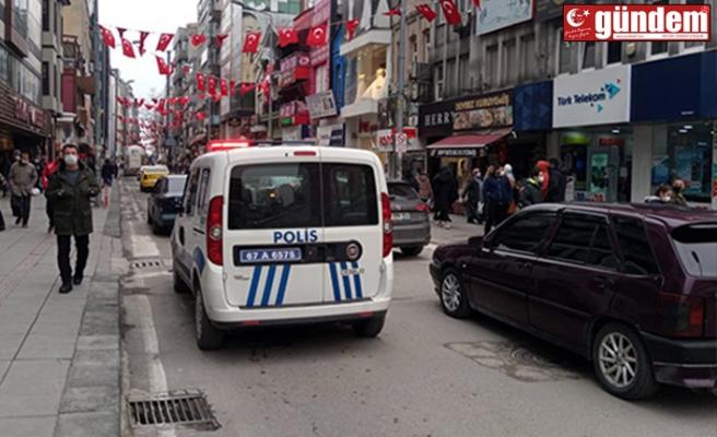POLİS EKİPLERİNDEN ANONSLU KORONAVİRÜS UYARISI